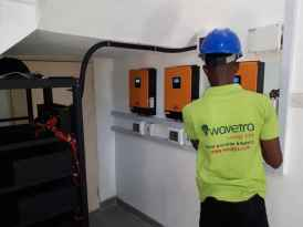 Inverter and Deep cycle battery installation training