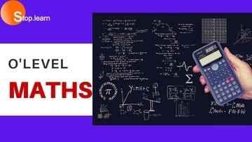 secondary school maths