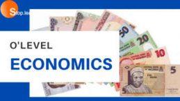 SS2 First Term Economics Senior Secondary School